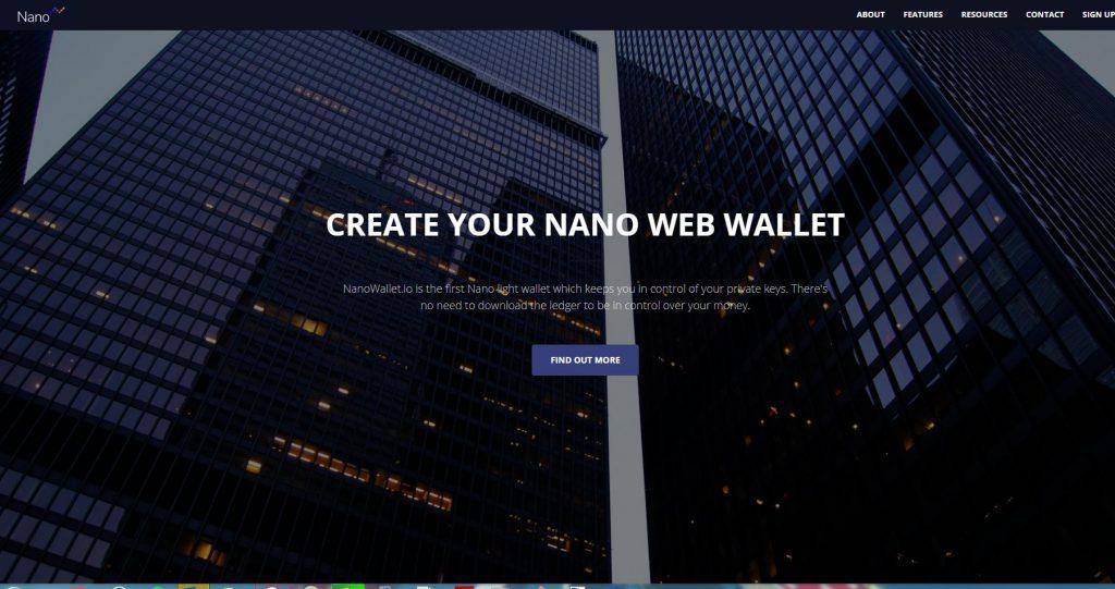 Nano Wallet