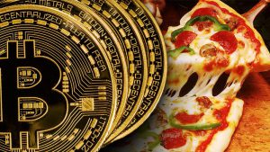Pizza com Bitcoin