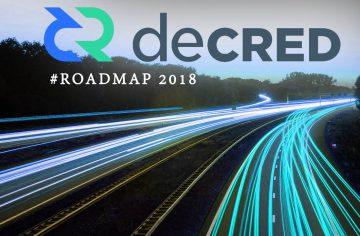 RoadMap Decred 2018