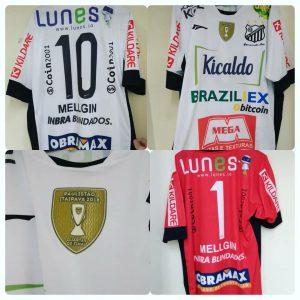 Uniforma Bragantino com apoio Lunes