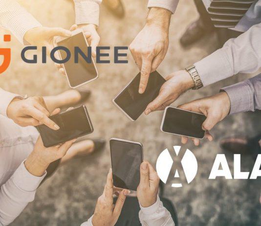 ALAX x Gionee