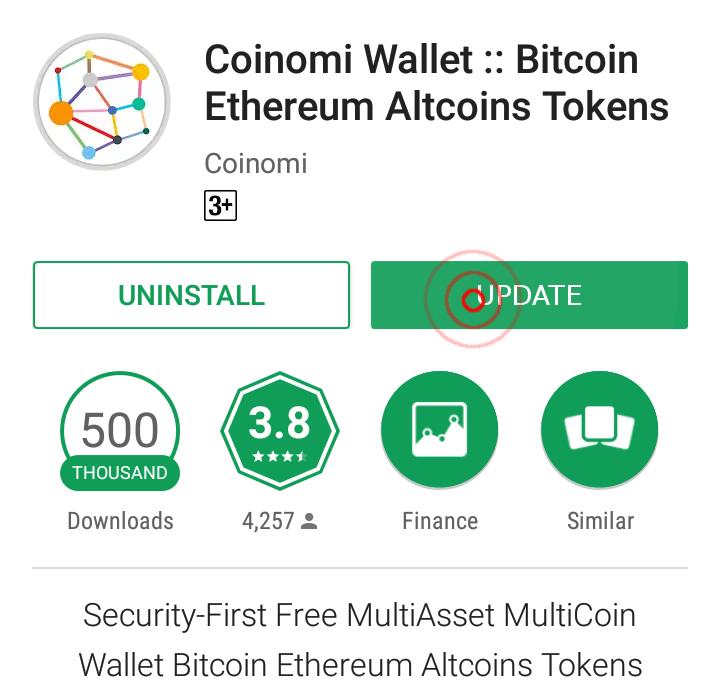 coinomi install