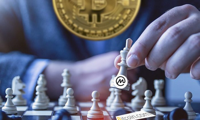 Bitcoin.com removida do coin marketcap