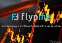 Flyp.me uma exchange instantânea, privada e que divide seus lucros.