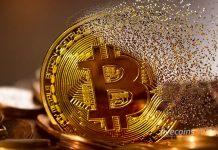 Bitcoin perdendo valor