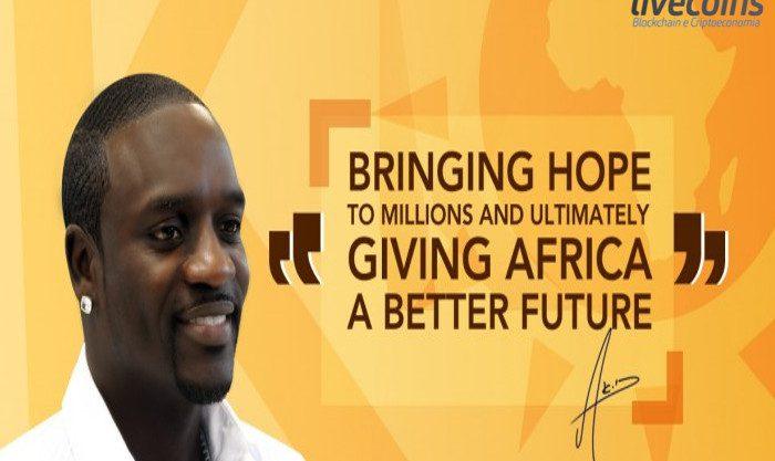 Cantor Akon e criptomoedas no Senegal
