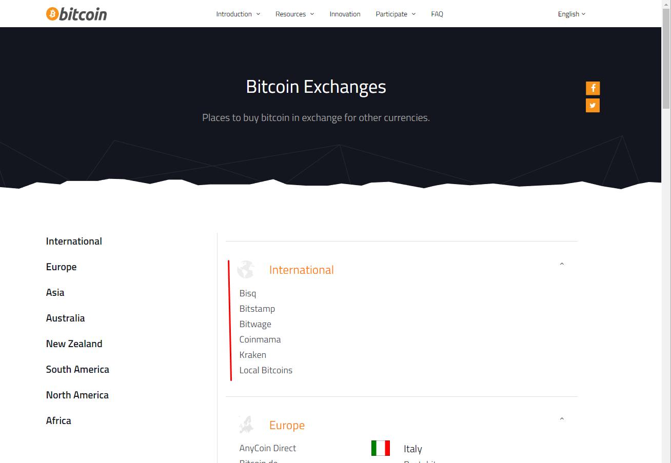 Novo site bitcoin.org não mostra mais a coinbase