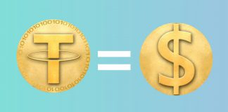 Tether = Dolar