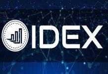 trade em uma exchange descentralizada - IDEX