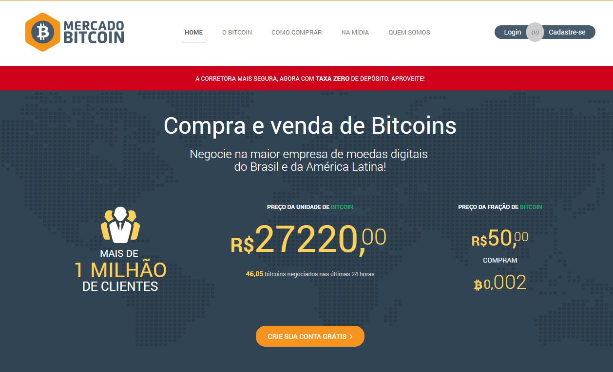 empresas de bitcoin no brasil como ganhar dinheiro vendendo ações bitcoin