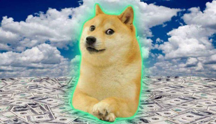 Dogecoin é terceira maior em transações