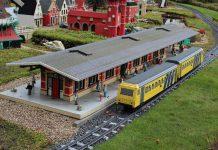Pai cria Trem Lego que roda pela Steem