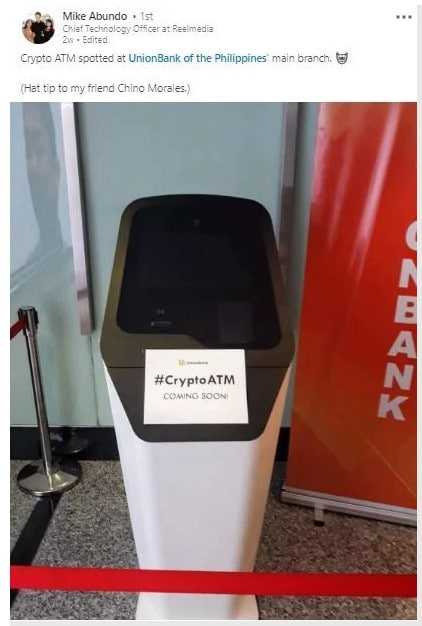 ATM Bitcoin Filipinas