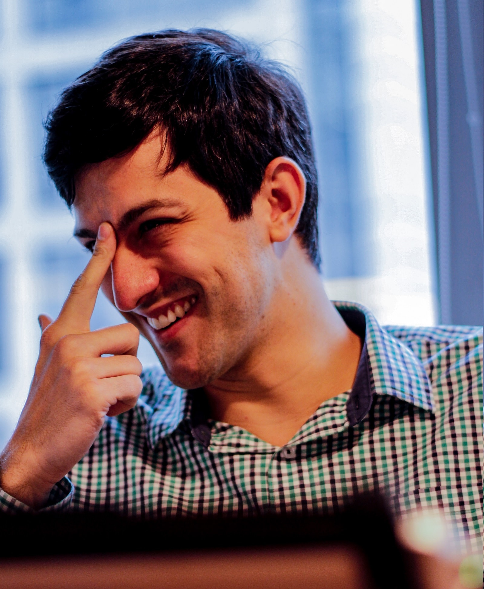 Bruno Peroni em entrevista ao Livecoins. Foto: Renata Santos