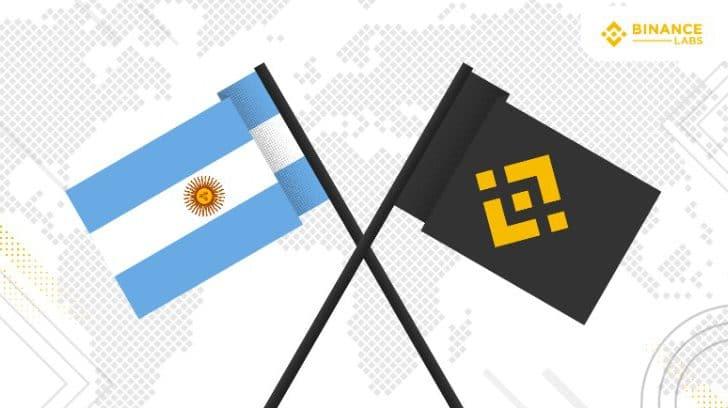 Binance Labs chegando na Argentina, uma grande operação de criptomoedas na América Latina