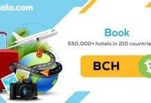Bitcoin Cash (BCH) é adicionado na plataforma Travala.com