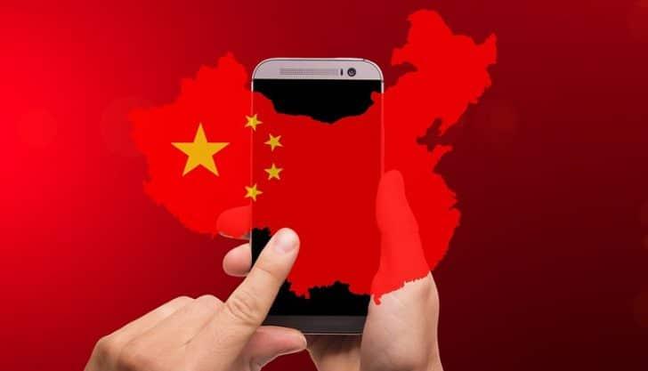 Celular na China