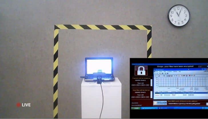 Computador que pede vírus em bitcoin vai ser leiloado