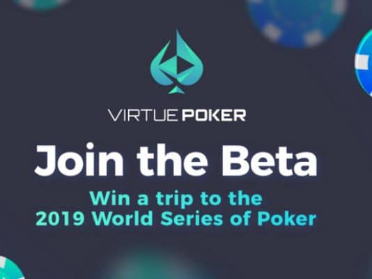 Poker e Blockchain em nova plataforma, conheça Virtue Poker