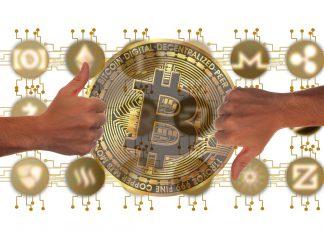 Bitcoin subindo e altcoins despencando