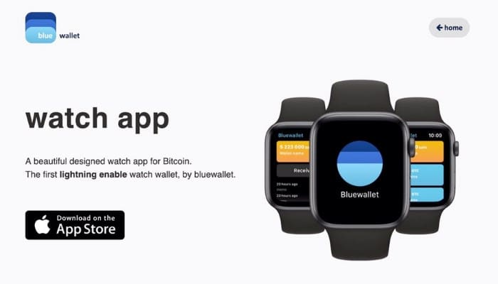 Bitcoin chega ao Apple Watch