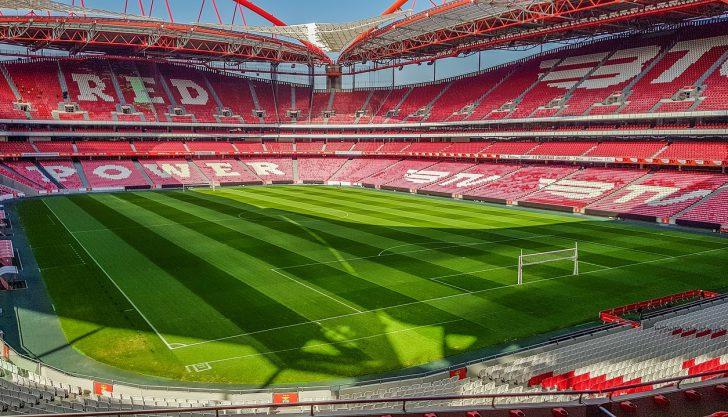 Clube Benfica aceitando criptomoeda em sua loja online