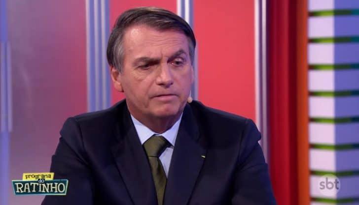 Bolsonaro fala sobre bitcoin no programa do Ratinho