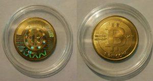 A história das moedas físicas de Bitcoin 8