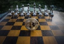 Bitcoin em Tabuleiro de Xadrez