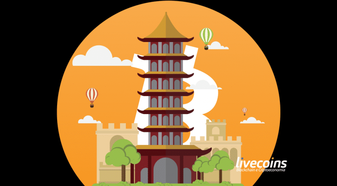 Torre Pagode Chinês e Bitcoin