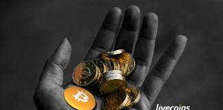 bitcoin na mão