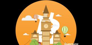 Bitcoin em Londres - Capital da Inglaterra e Reino Unido