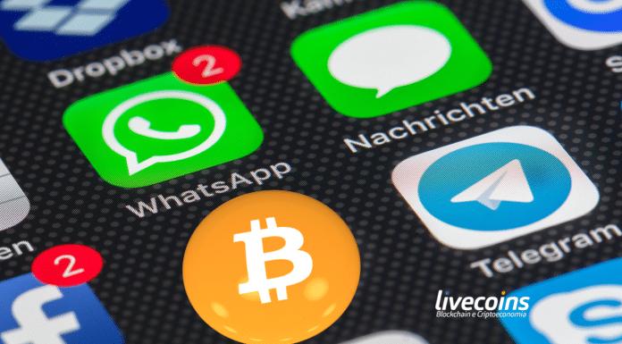 Aplicativos de Celular - WhatsApp, Telegram e Criptomoeda Bitcoin