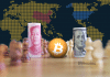 Moeda da China, Bitcoin e Dólar