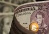 Bolívar venezuelano e Bitcoin na Venezuela