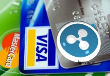 Criptomoeda Ripple (XRP), Mastercard e Visa