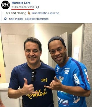 Ronaldinho Gaúcho and 18K