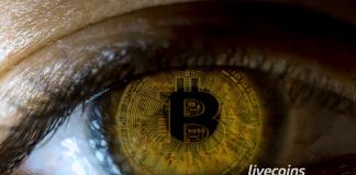 Olho com Bitcoin
