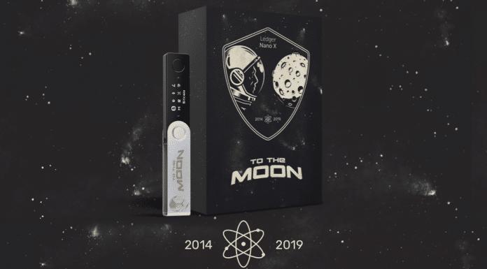 Ledger celebra 5 anos com Ledger Nano X To the Moon