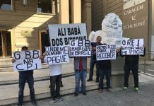 Manifestação no GBB