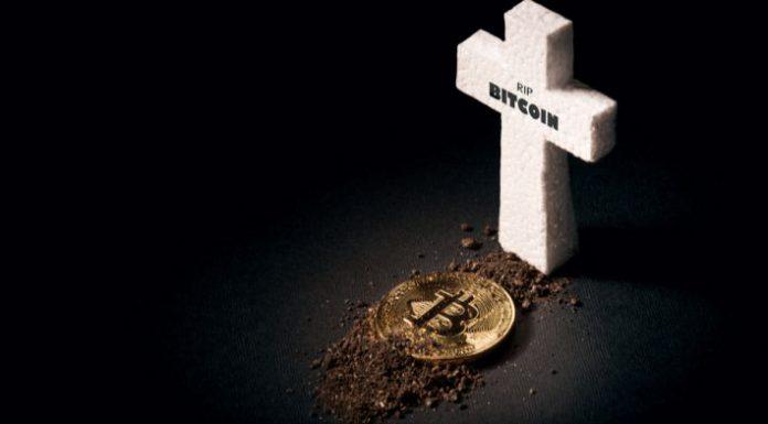 Bitcoin morreu mas passa bem