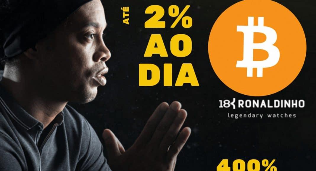 Ronaldinho Gaúcho in 18K Advertising