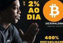 Ronaldinho Gaúcho em Propaganda da 18K