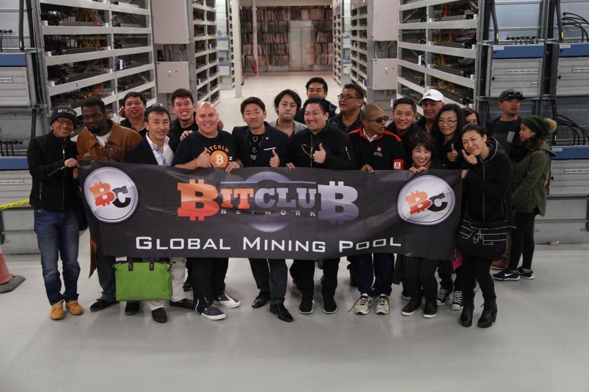 Líderes da Bitclub