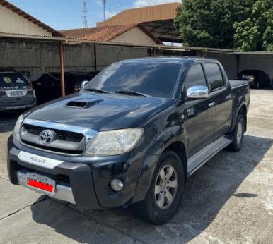 Toyota, modelo Hilux - Imagem Cedida pela Polícia Civil do Amazonas