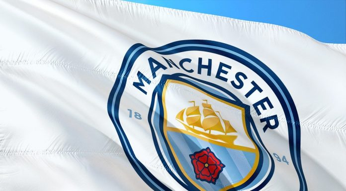 Bandeira do Manchester City