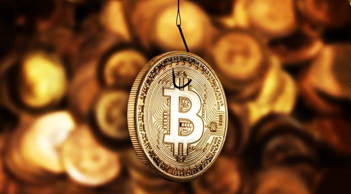 Golpe usando Bitcoin