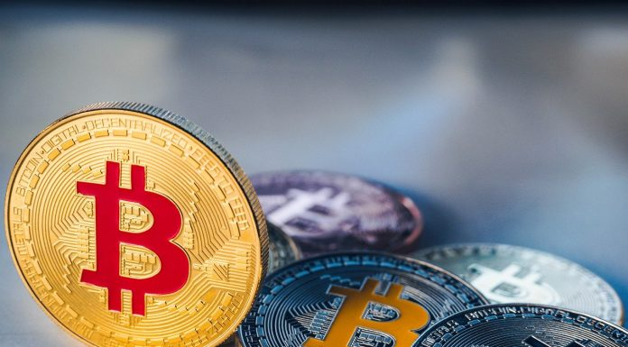 Moeda Bitcoin personalizada