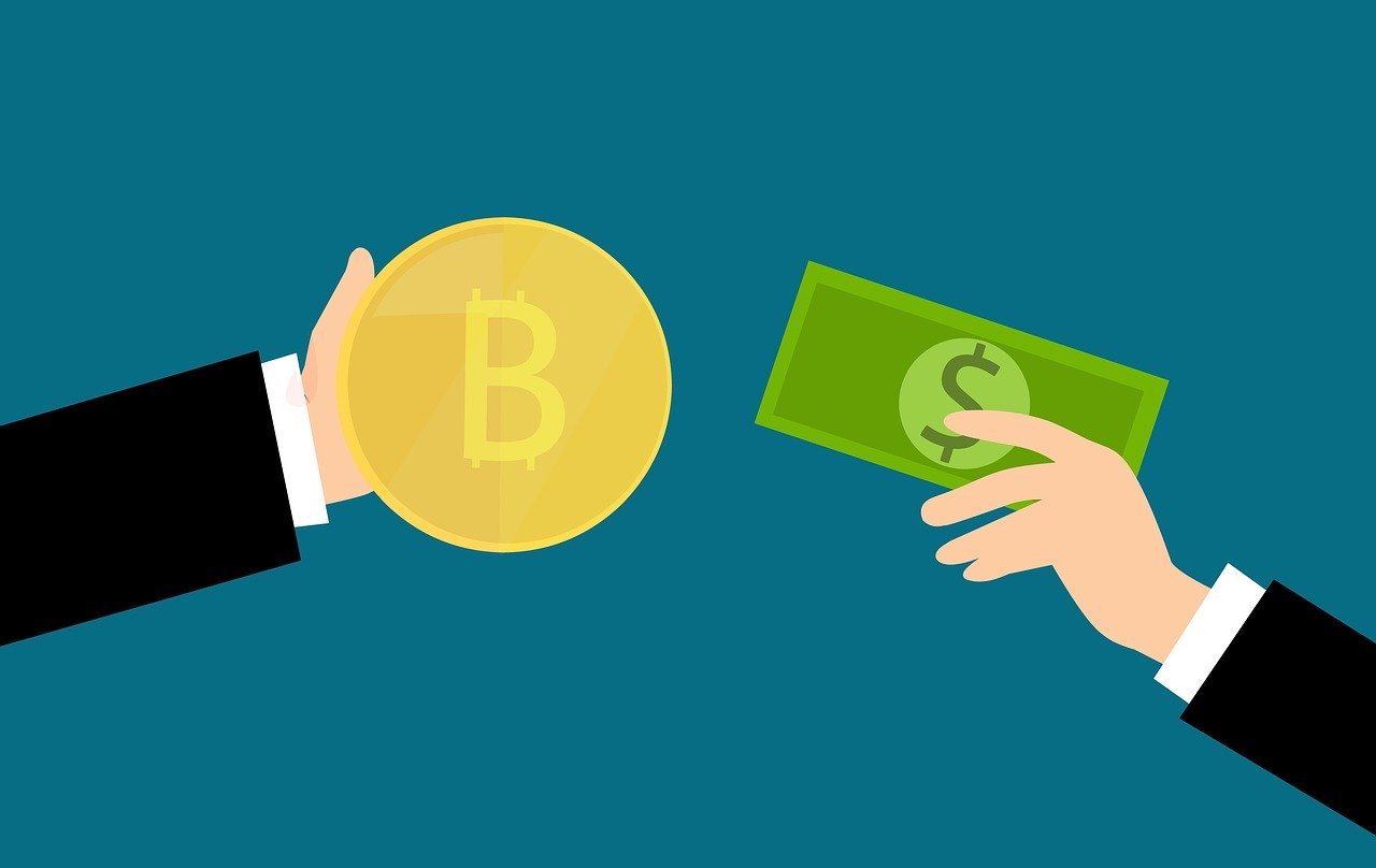 Troca de Bitcoin por Dólar