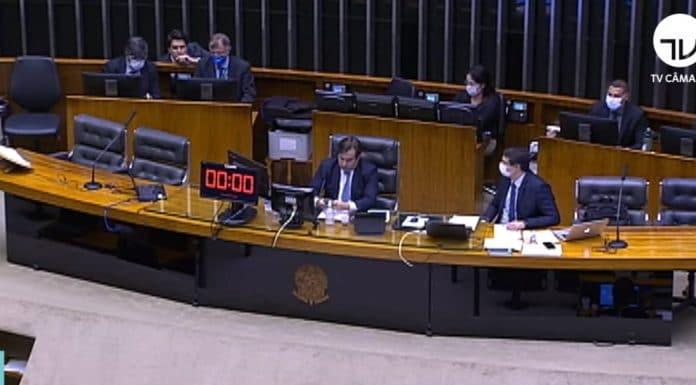 Votação da MP 905/2019 na Câmara dos Deputados - Reprodução